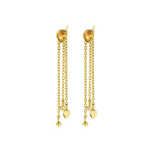 [M1555] Blush Earrings