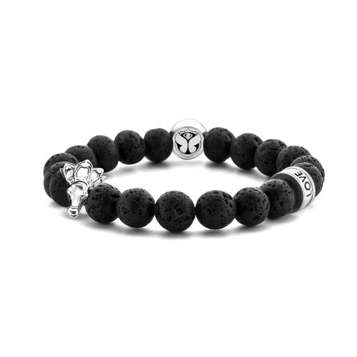[M1580] Rosegarden Beads Bracelet
