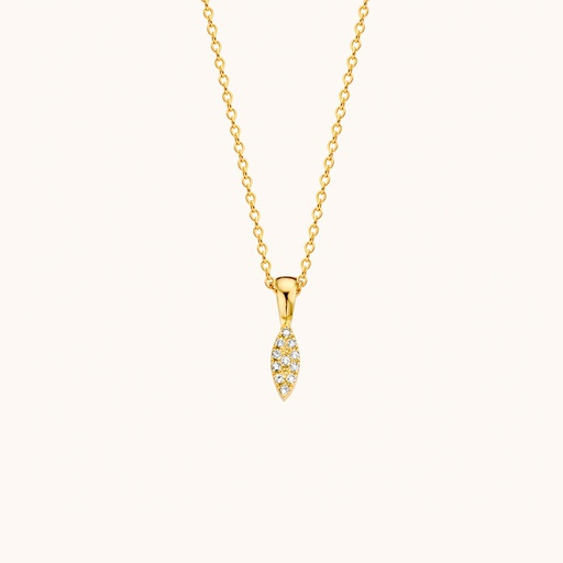 [M1638] GLD - Auro Necklace