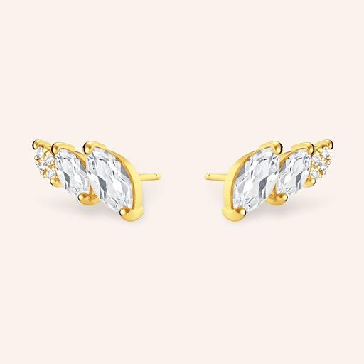 [M1690] Swan Earrings