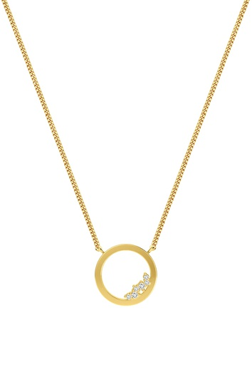 [M1711] Circle Unity Necklace