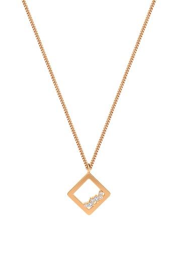 [M1712] Square Unity Necklace