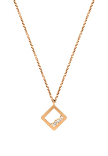 [M1712] Square Unity Necklace