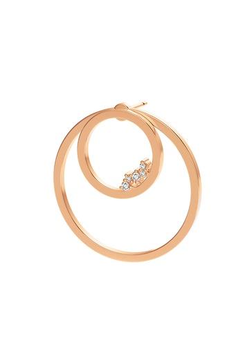 [M1717] Circle Unity (Single) Earring