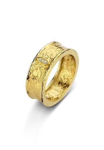 [M1820] Golden Eye Ring