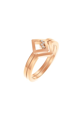 [M1722] Square Unity Ring